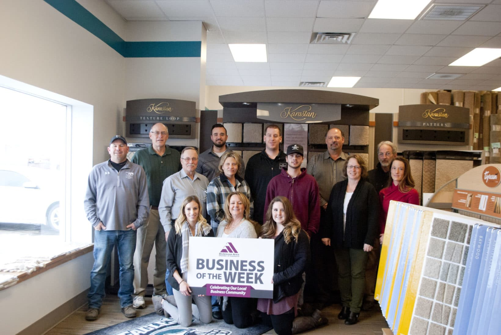 Business Of The Week Floor To Ceiling Carpet One Inson Chamber Commerce